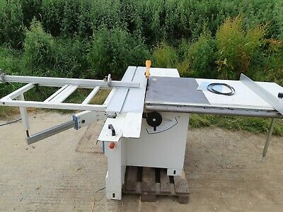 240v Table Saw ** DELIVERY AVAILABLE **  pre scoring Sliding table Scm mini max