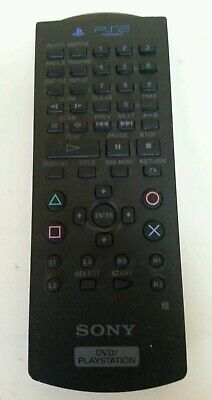 PLAYSTATION 2 - PS2 Official Black Remote Controller Untested Sony SCPH-10150