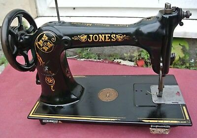 Jones Industrial Vintage Sewing Machine head , vintage Home Decor