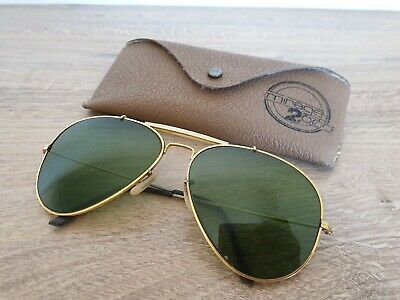 Vintage MIRAGE 2000 Extremely Rare Aviator Sunglasses by Bausch & Lomb 62 mm USA