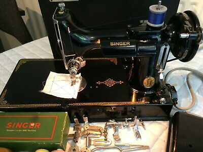 1949 Singer 221K Featherweight Sewing Machine,Collectable sewing machine