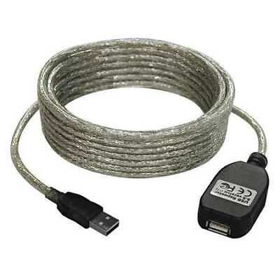 TRIPP LITE U022-016 USB Extension Cable,16ft.,Silver