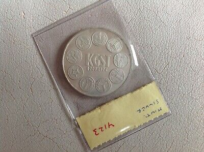 Hungary Silver Proof Coin 100 Forint 1974 KGST