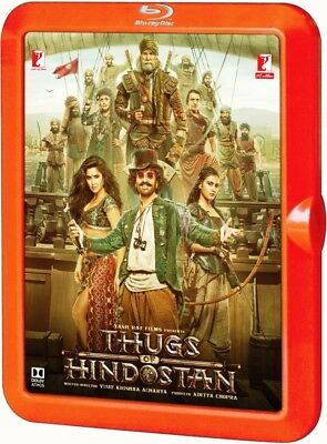 THUGS OF HINDOSTAN HindI / Tamil/ Telugui Blu Ray ( All RegionsEnglish Subtitle)