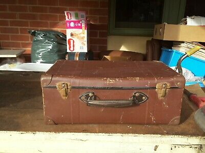 vintage OLD SCHOOL case 1960s storage industrial
