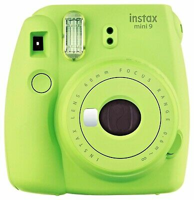 Brand New - Fujifilm Instax Mini 9 Instant Camera (Lime Green)