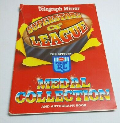 Superstars of League medal collection - COMPLETE