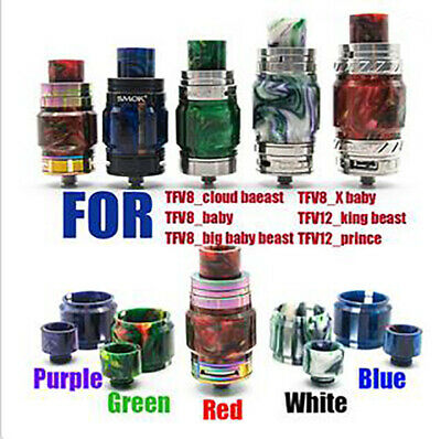 SMOK Resin Drip Tip&extend tube TFV8_Cloud_beastTFV8_big_beastTFV12_prince etc