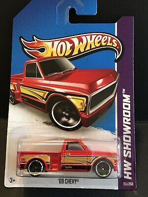 Hot Wheels 2013 Mainline 69 Chevy *Red*