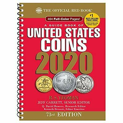 United States Red Book of US Coins 2020 73rd Edition Guide