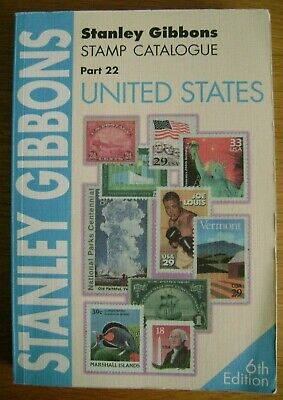 Stanley Gibbons Part 22 Stamp Catalogue - UNITED STATES - 6th Edition