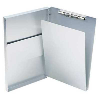 "SAUNDERS 10519 Aluminum Folder, Holds 8.5 x 14"", 1/2"" Thickness"