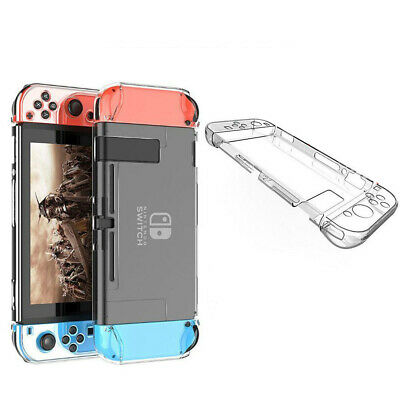 Coque Rigide Transparent pour Nintendo Switch Housse de Protection