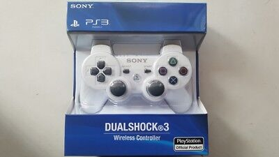 Original Sony PlayStation 3 PS3 DualShock 3 Wireless SixAxis Controller white