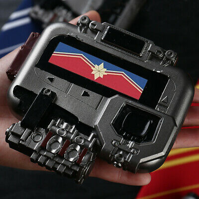 New Avengers Endgame Captain Marvel Cosplay Beeper Pager Props Halloween Party