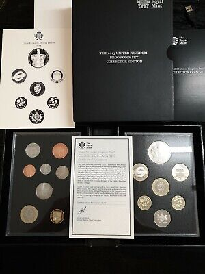 2013 Royal Mint Uk Proof Coin Set -  Collectors Edition - 15 Coins