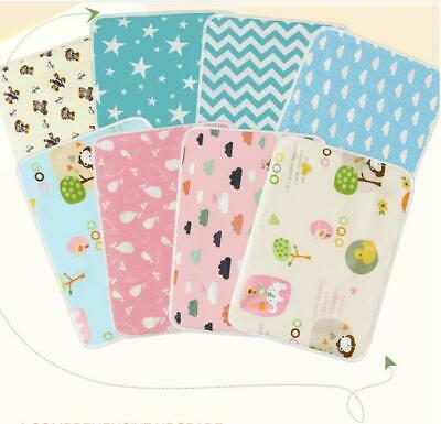 Baby Articles Pure Cotton Washable Waterproof Breathable Cartoon Diaper Pad