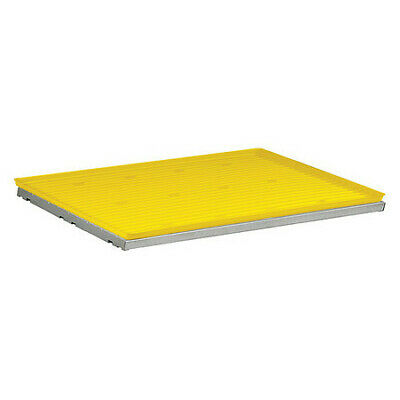 JUSTRITE 29960 SpillSlope Shelf with Tray,31-5/8 In. W