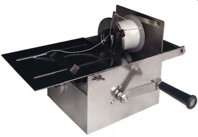 New 52mm Manual Stainless Steel Hand-rolling Sausage Tying & Knotting Machine a