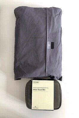 89d3ae37cee0 CATHAY PACIFIC FIRST Class Set - Pajama Size M + Male Travel Kit by Aesop