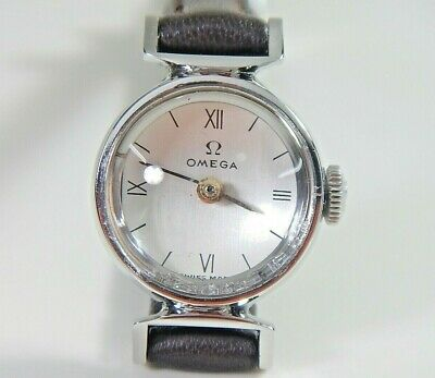 OMEGA Ladies Watch | S'less Steel | Vintage 1960 |  New Case Dial New Strap
