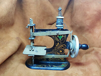 Antique German Made Hand Crank Toy Sewing Machine