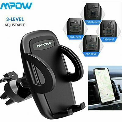MPOW 360° Universal Car Air Vent Mount Cradle Phone Holder For iPhone 6 7 8P X
