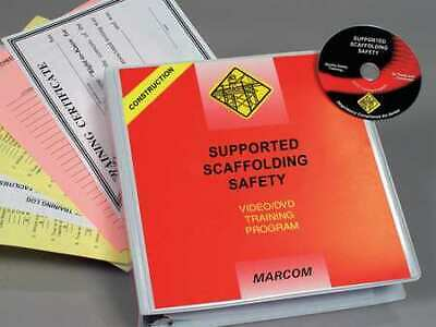 MARCOM V0000749ET Supported Scaffolding Construction DVD
