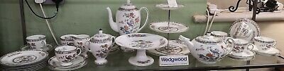 Wedgwood KUTANI CRANE full Teaset for 8 and more rare items included in set