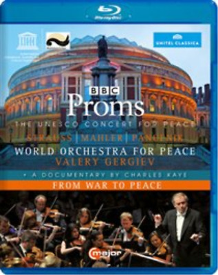 BBC Proms - The UNESCO Concert for Peace/From War to Pea (UK IMPORT) Blu-ray NEW