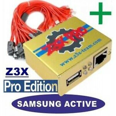 Z3X SAMSUNG PRO BOX Repair Activate Samsung tool & Pro +32 cables