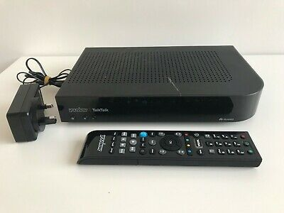 TalkTalk Huawei Youview DN372T 320GB Freeview Recorder with Remote & Power Lead