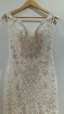 Couture Wedding Dress 'Aria' by Raffinato - Size 10 NWT (RRP $3,569) ☆CLEARANCE☆