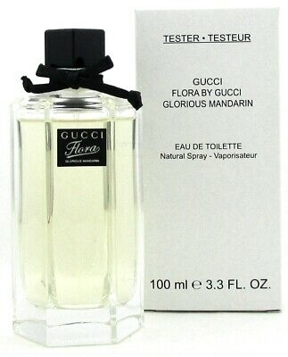 Gucci Flora Glorious Mandarin Perfume by Gucci 3.3 oz. EDT Spray. New Tester