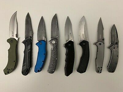 Kershaw knives - lot of 8