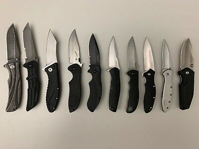 Kershaw knives - lot of 10