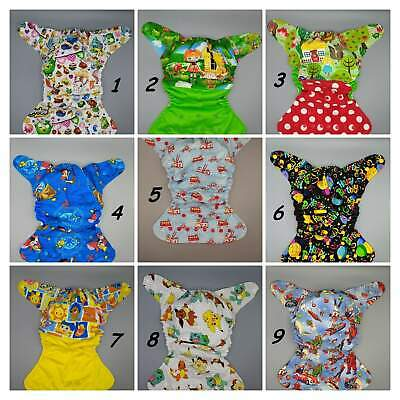 SassyCloth one size pocket cloth diaper with cotton prints (2).