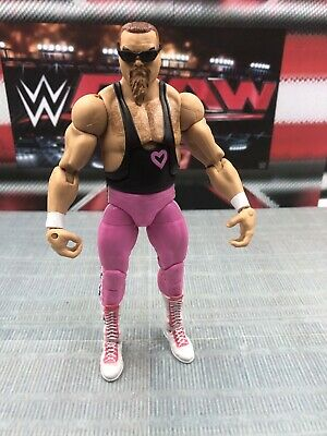 WWF WWE ELITE FLASHBACK JIM THE ANVIL NEIDHART HART FOUNDATION WRESTLING FIGURE