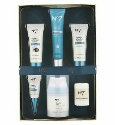 *NEW No7 PROTECT AND PERFECT INTENSE ADVANCED SET, THE PERFECT GIFT RRP-60.00
