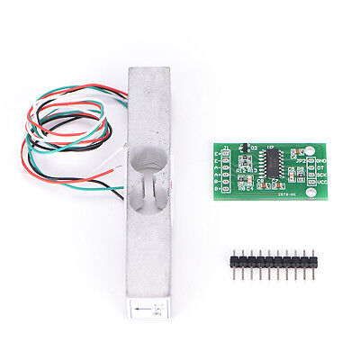 Load Cell Weight Sensor 1KG Portable Scale+HX711 Weighing Sensors Ad Module  IU