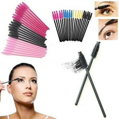 Disposable Eyelash Brush Mascara Wands Eyebrow spoolie Brush Cosmetic Brush Kit