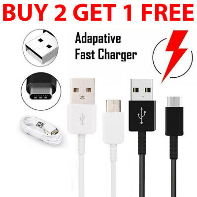 Fast Charger For Samsung Galaxy S8 / S9+ Plus Type C USB-C Sync Charging Cable