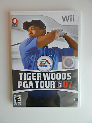 Tiger Woods PGA Tour 07 Game Complete! Nintendo Wii 2007