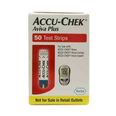 Accu-Chek Aviva Plus Test Strips 50 count  Exp11/31/19  Free Shipping