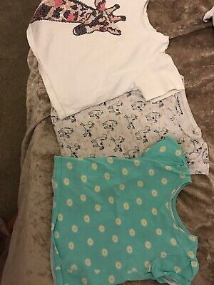 girls tshirt bundle 3-4 Years Outfit Kids Primark