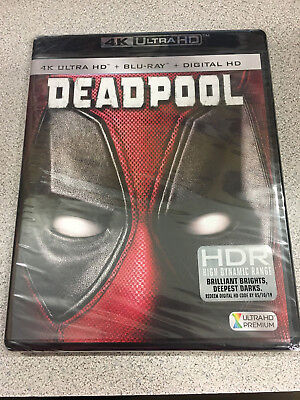 Deadpool 4K Disc, Blu-ray Disc and Digital HD