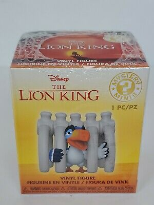 Hot Topic Exclusive Disney Treasures Lion King Zazu Funko Mystery Mini Figure