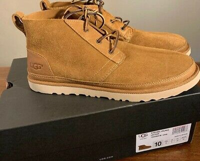 a5c8f3c1627 UGG PUMICE NEUMEL Uld Unlined Suede Desert Chukka Boots, Us 8/ Eur ...