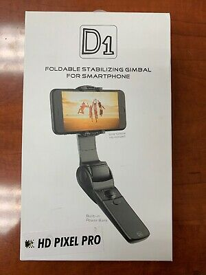 D1 Handheld Gimbal Stabilizer Folding For Smartphones (iPhone, Samsung, Android)