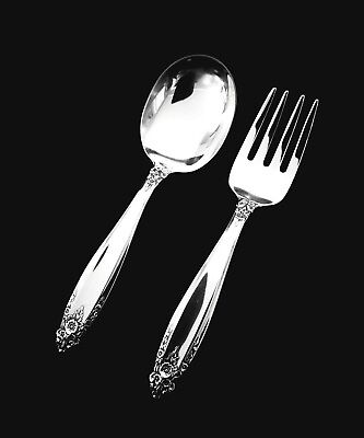 International Prelude Sterling Silver Baby Fork and Spoon Set-  GIFT QUALITY 🎁